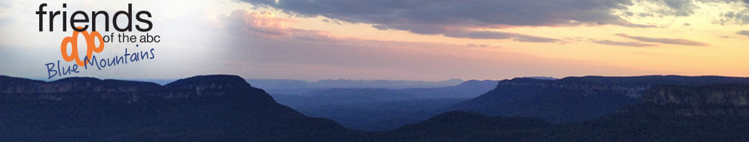 Friends of the ABC Blue Mountains header image